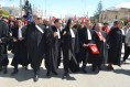 Photo des avocats participants à la marche contre le terrorisme